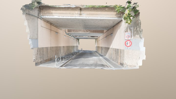 Tunnel in Colombes 3D Model