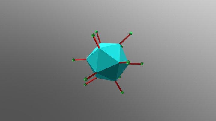 Adenovirus structure 3D Model