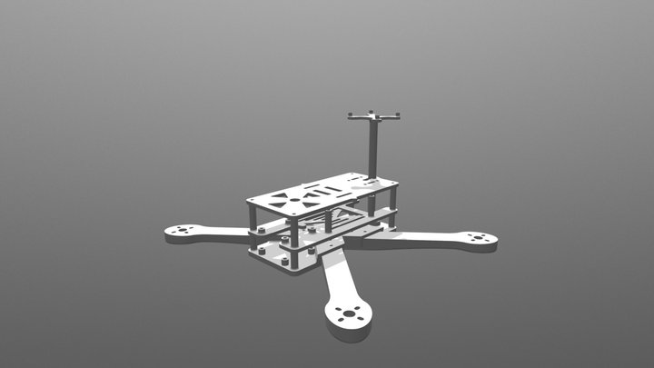 Autonomous Drone - 2017 Capstone 3D Model