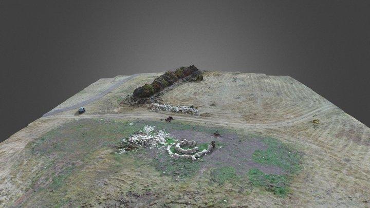 Игровая зона в археологическом парке «Аргамач» 3D Model
