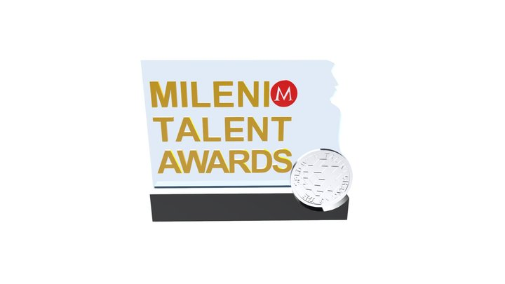 Milenio Talent Awards 3D Model
