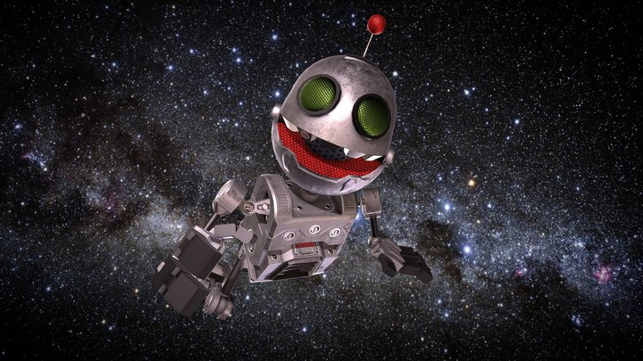Lost in space Clank 3D Model