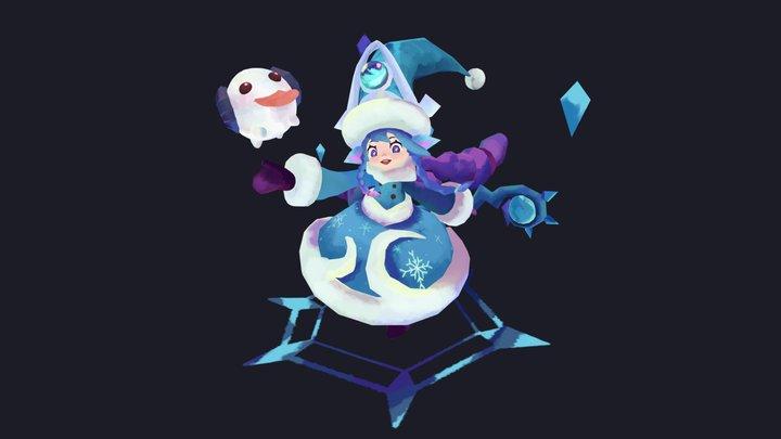 SnowyDay Lulu 3D Model