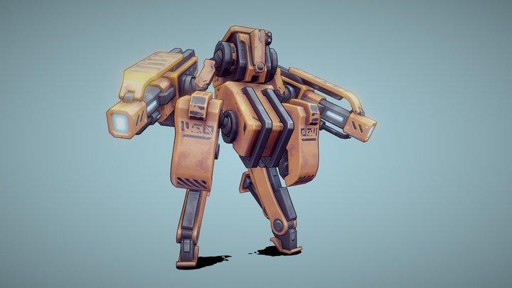 Mech 02 3D Model