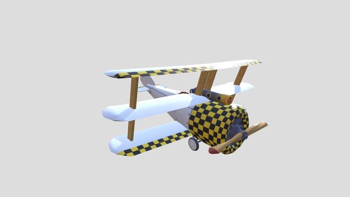 WWI Plane Interpretation 3D Model