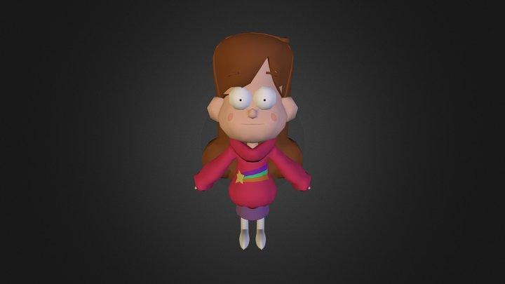 Mabel gravity falls 3D Model