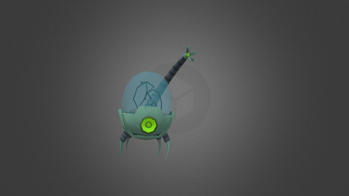 #2 Claw 3D Model