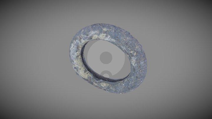 Bronze Age Bracelet - before conservation 3D Model