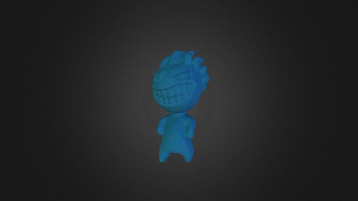 F-avto logo character 3D Model