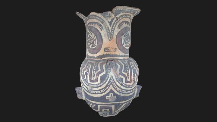 Urna Santa María 3D Model