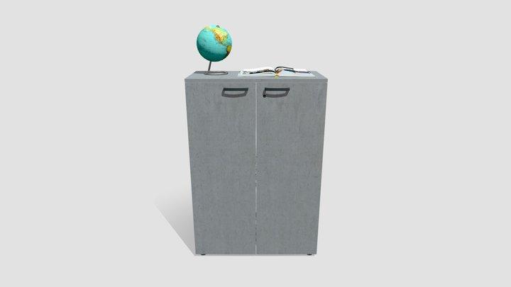 Mobile Ufficio 3D Model