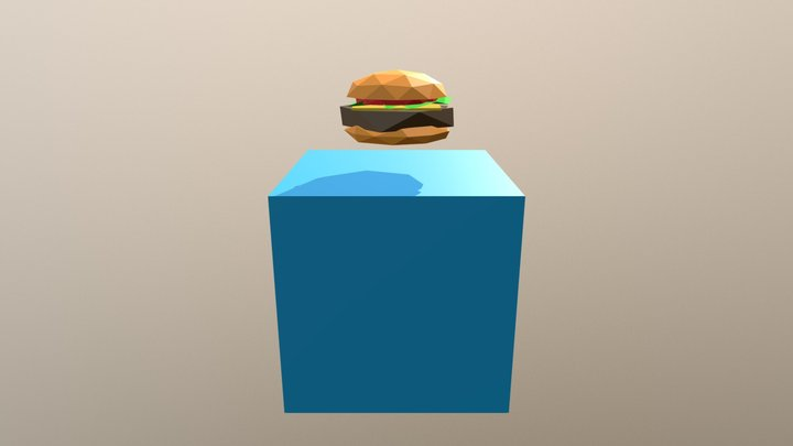 Junk Food 3D Model