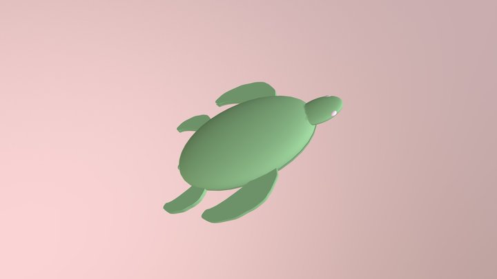 Squirtle the Vacuum Turtle (Part 2) 3D Model