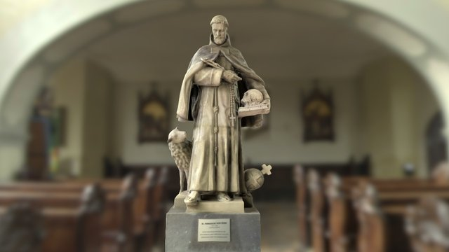 St. Franziscus (Spontaneous Scan) 3D Model
