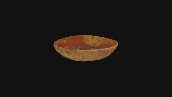 Crystal Palace Ceramic Bowl from Ledge 1 Cache 3D Model