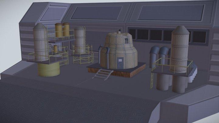 Metal Place 3D Model