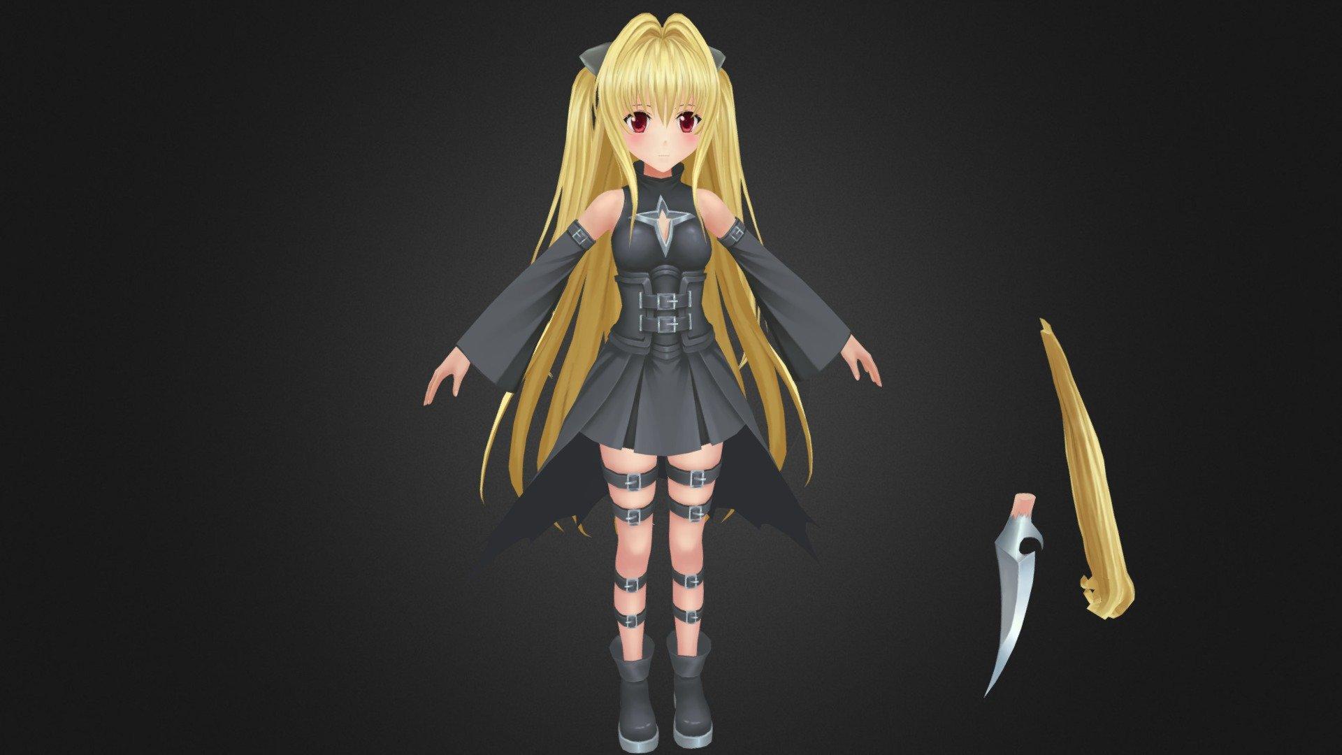 Konjiki No Yami Golden Darkness金色の闇 こんじきのやみ 3d Model