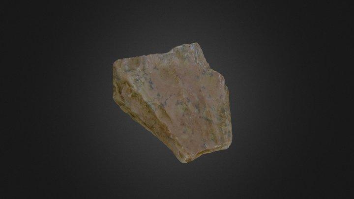 Prehistoric Tool, France 3D Model