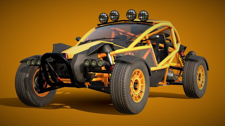 Ariel Nomad Buggy 2016 3D Model