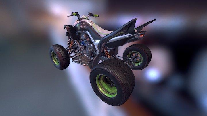 QUAD - Yamaha Raptor 700s 3D Model