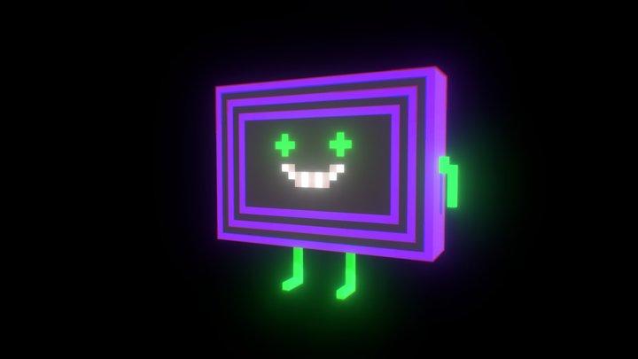 Mr. Screenhole 3D Model