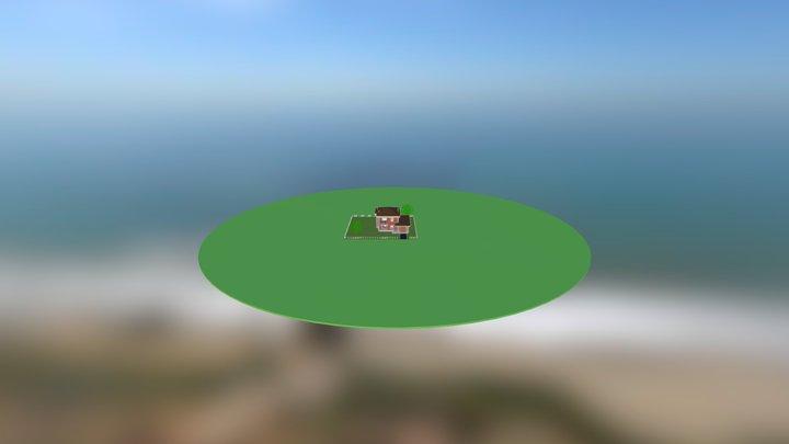Kottedge_BIG 3D Model