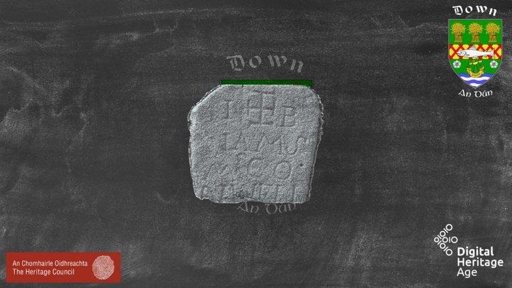 Dow047:042 Headstone 2 3D Model