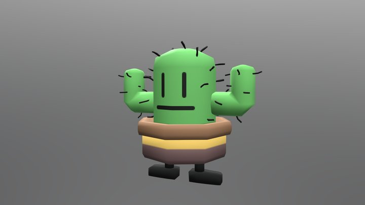 Cactus V1 3D Model