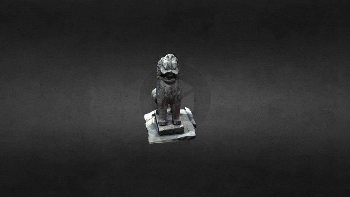 Lion : gate's protector 3D Model