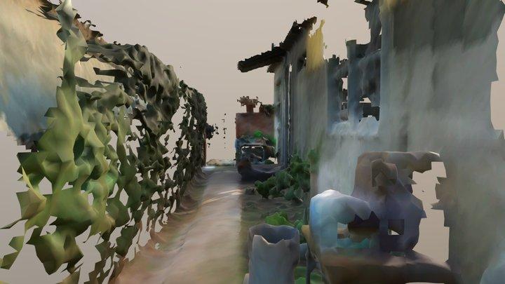 Dotty Mesh Yard Magic Leap 3D Model