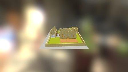 Roseraie 3D Model