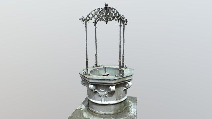Fountain (Nebbienic Summerhouse) 3D Model