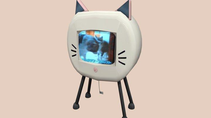 Neko TV - Made For The Sims 3D Model