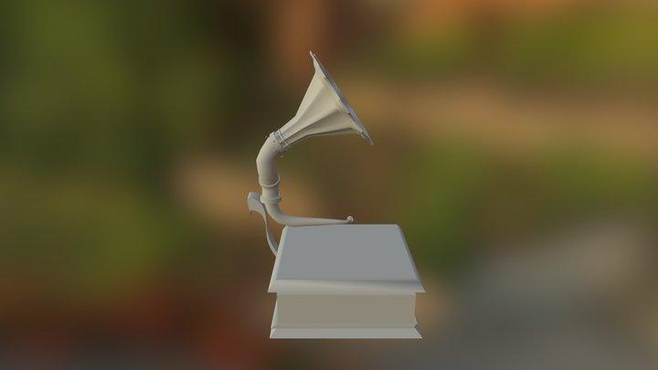 Saved Phonograph 3D Model