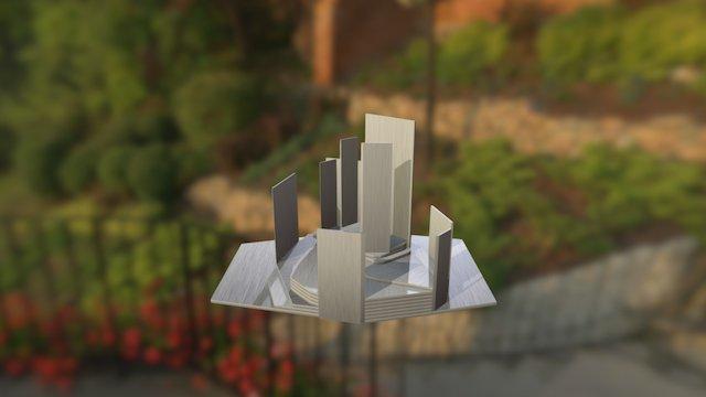 Modelo Ide Palazuelo 3D Model