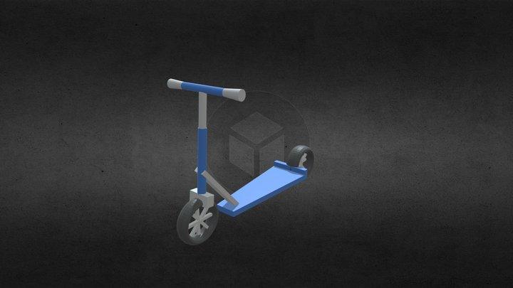 Kid's Scooter 3D Model