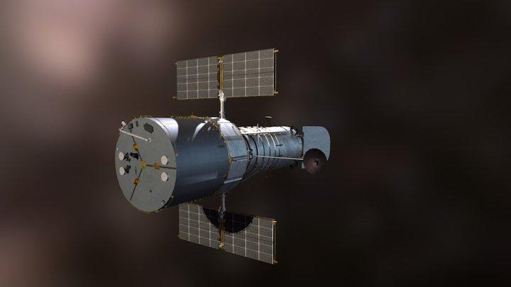 Hubble 3D Model