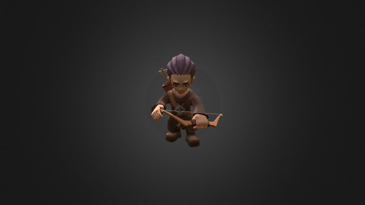 ArcherBow@death 3D Model