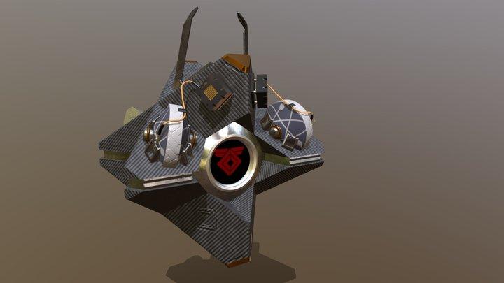 Braytech Defense Shell 3D Model