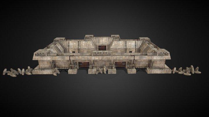 Future Fort Rev 006 SF 3D Model