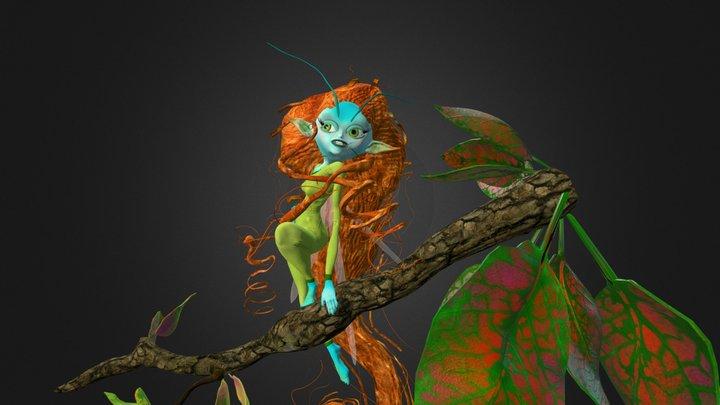 Pixie 3D Model
