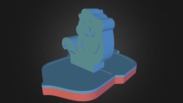 acorn_handle1 3D Model