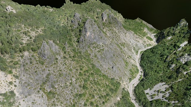 Valle Pirenaico 3D Model