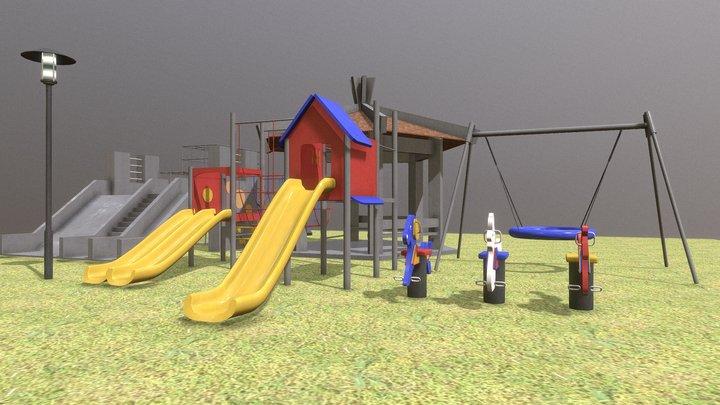 Park facility asset 3D Model