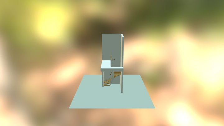 Szymańska schody ADA 3D Model