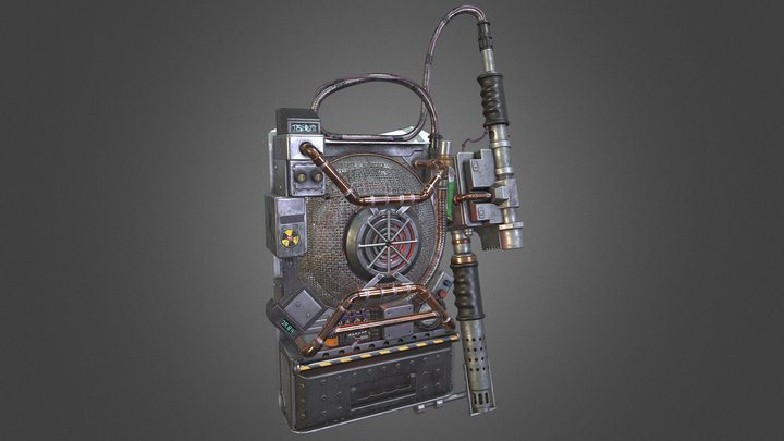 Ghostbusters Proton Pack (2016 Reboot) 3D Model