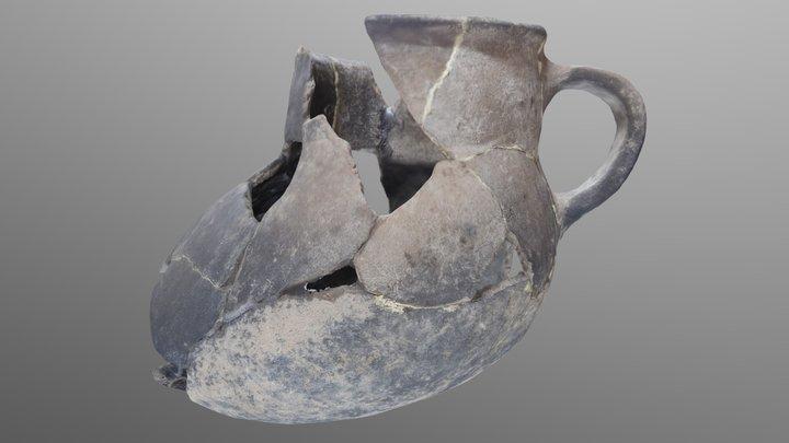 Vasija Alamito 3D Model
