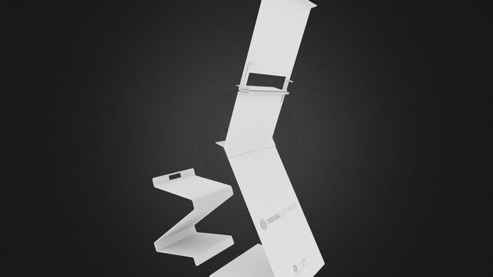 caballete atril 3D Model