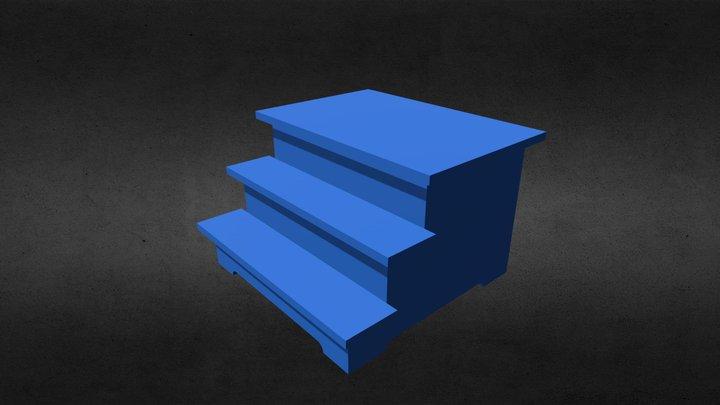 ladder for the child/Лесенка для малыша 3D Model