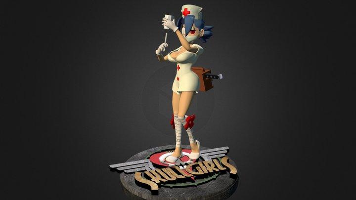 SkullGirls: Valentine (Pose 2) 3D Model